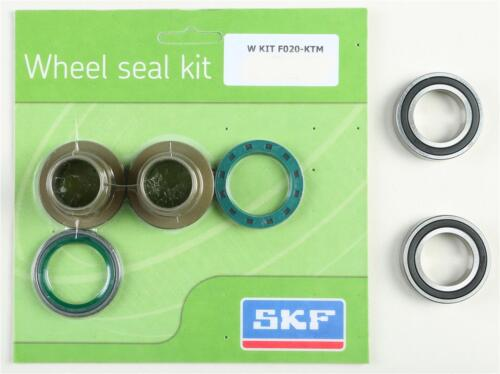 SKF WHEEL SEAL KIT W//BEARINGS FRONT WSB-KIT-F020-FOR KTM
