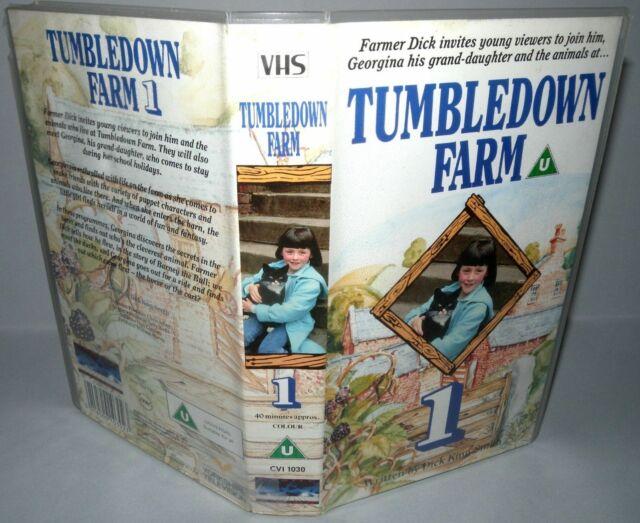 Tumbledown Farm, Vhs Tape & Case. Cert U, Children's Video-  Collectable VHS