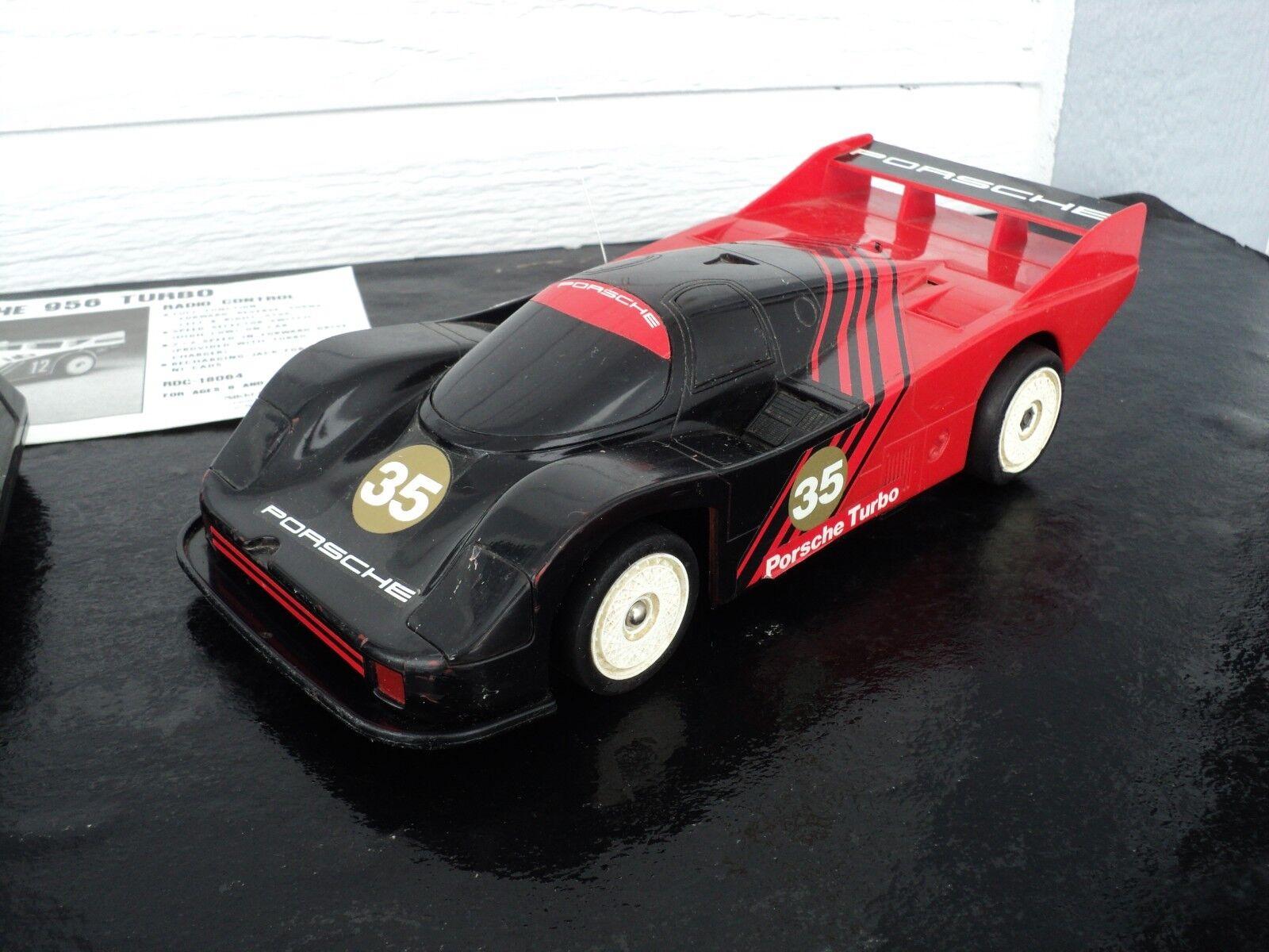 1 18 Nikko Porsche 956 Turbo RTR 1984 SUPER RARE