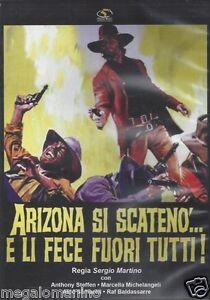 Dvd-ARIZONA-SI-SCATENO-039-E-LI-FECE-FUORI-TUTTI-di-Sergio-Martino-nuovo-1970