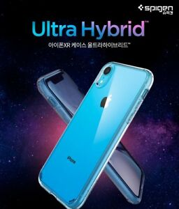 low priced 2993a 5d7b8 Details about Spigen Ultra Hybrid Slim Crystal Clear Hard Protective Cover  For iPhone XR Case
