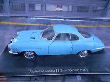 ALFA ROMEO Giulietta SS Sprint Speciale 1957 blau blue  SP Atlas LEO Fabbri 1:24