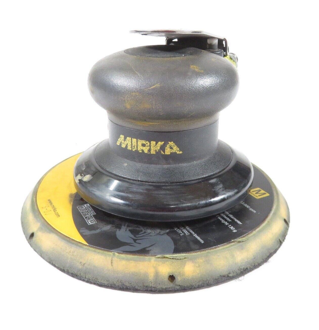 Mirka MR-508 Finishing 8mm Orbit Sander - Handheld, Pneumatic, 12,000 RPM. Buy it now for 107.97