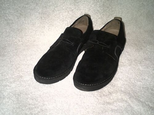 Suede Clarks Black Shoes 5 Ladies Size 1pwtz6