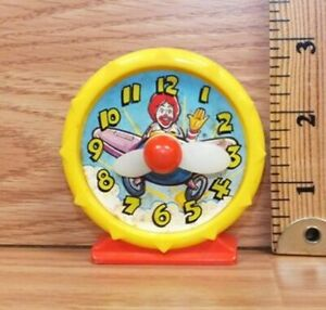 Vintage-McDonald-039-s-Happy-Meal-Ronald-Clock-Toy-Figure-Only-READ