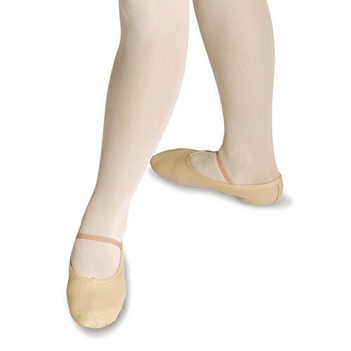 PRE-SEWN ALL SIZES NEW GIRLS//CHILDRENS PINK PRE-SEWN ELASTIC BALLET SHOES
