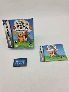 GAME BOY GAMEBOY ADVANCE GBA BOXED BOITE OVP NINTENDO WINNIE THE POOH'S ADVENTUR