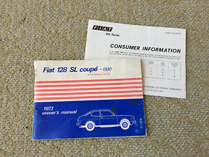[SCHEMATICS_4FR]  1973 Fiat 128 SL Coupe 1300 Owners Manual Rare Electrical wiring diagram   Wiring 1973 Fiat      eBay