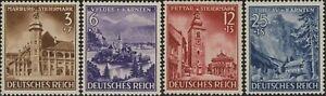 Stamp-Germany-Mi-806-9-Sc-B194-7-1941-WW2-3rd-Reich-Styria-Carinthia-MNH