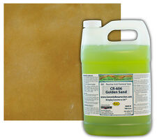 Professional Easy To Apply Concrete Acid Stain Golden Sand 1 Gallon