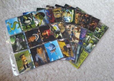 Shrek 2 The Movie Trading Card Base Set Cards Inc 2004 Ebay