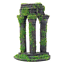 Moss-Covered-Roman-Ruin-Aquarium-Fish-Tank-Ornament-Decorations-Features thumbnail 4