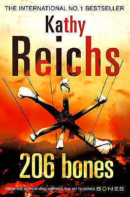 """AS NEW"" 206 Bones: (Temperance Brennan 12), Reichs, Kathy, Book"