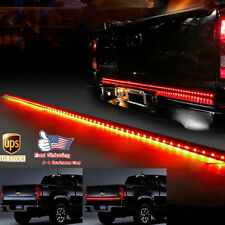 60 inch led tailgate 5 function universal light bar dodge ram full 60 led strip tailgate bar reverse brake signal light for dodge ram pickup truck mozeypictures Gallery