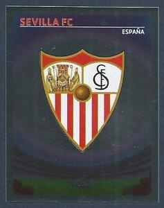 PANINI-UEFA-CHAMPIONS-LEAGUE-2007-08-502-SEVILLA-TEAM-BADGE-SILVER-FOIL
