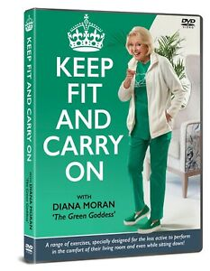 Keep Fit and Carry On with Diana Moran [DVD]