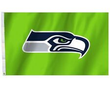 NFL Seattle Seahawks 3'x5'  Flag - bright Green color
