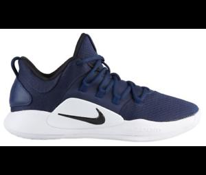 premium selection b894e 5024e Image is loading Nike-Hyperdunk-X-Low-2018-Basketball-Shoes-Navy-