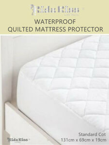 Kidz-Kiss-Bamboo-Waterproof-Quilted-Fitted-Mattress-Protector-Standard-Cot