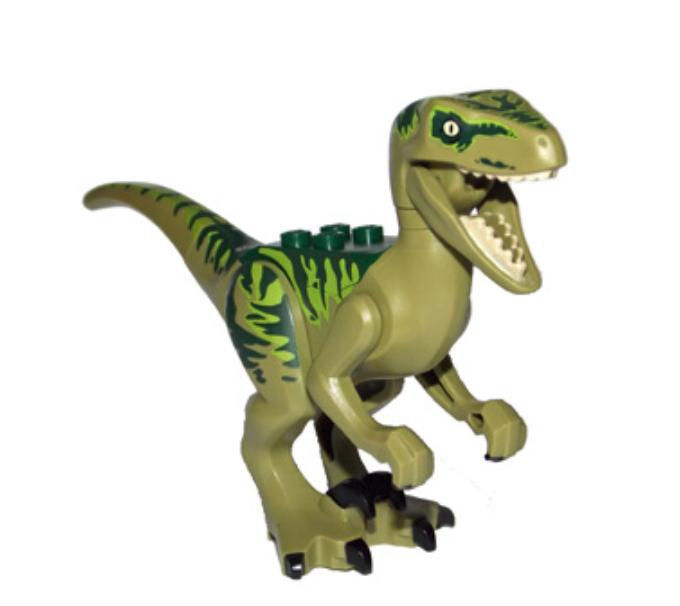 Lego Raptor - Velociraptor Lime Markings 75920 Jurassic World Dinosaur Authentic