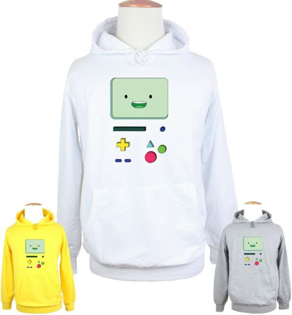 NEW Fashion Womens//Mens Adventure Time Game BMO 3D sweatshirts Hoodie DD18