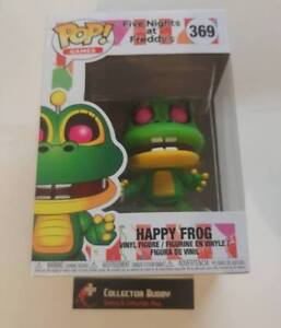 HAPPY FROG FUNKO POP VINYL FIGURE #369 FIVE NIGHTS AT FREDDY'S