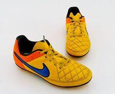 Nike Tiempo Fußballschuhe Outdoor unisex Synthetik orange gelb Gr. 33