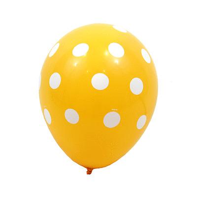 "10 Polka Dots Spots Spotty 12"" LATEX BALOONS Birthday Party Decoration Supplies"