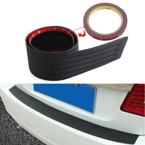 Car SUV Rear Bumper Sill//Protector Plate Rubber Cover Guard Pad Moulding Trim CZ