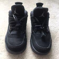 Nike Air Jordan 4 Retro PS Black Cat 2020 Little Kids Size 3y for ...