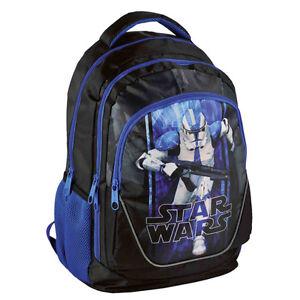 Star-Wars-Backpack-Stormtrooper-School-Bag-Travel-Holiday-Tourist