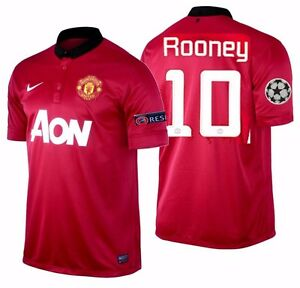 bf2a82c13 Image is loading NIKE-WAYNE-ROONEY-MANCHESTER-UNITED-UEFA-CHAMPIONS-LEAGUE-