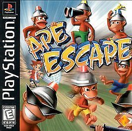 Ape Escape (Sony PlayStation 1 PS1 PS2 PS3, 1999) DISC ONLY