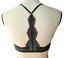 Intimately Free People Slow Dance Underwire Racer Back Emerald Green Bra 32C