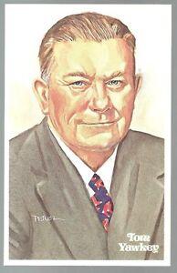 173-TOM-YAWKEY-Perez-Steele-Hall-of-Fame-Postcard