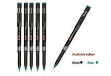 20 Rorito Cd Dvd Marker Pen Black Waterproof Permanent Ink For Clear Marking