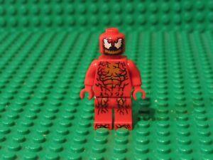 LEGO-CARNAGE-MINIFIG-minifigure-76113-spiderman-marvel-super-heroes-villain-C13