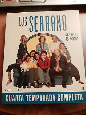LOS SERRANO TEMPORADA 4 CUARTA COMPLETA - 8 DVD EDICION ESPECIAL CAJA FRAN PEREA
