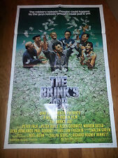 1978 THE BRINK'S JOB MOVIE POSTER Peter FALK Peter BOYLE