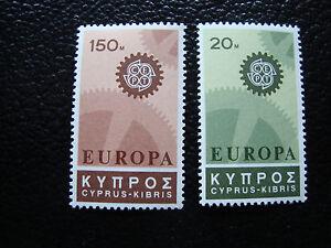 Zypern-Briefmarke-Yvert-Und-Tellier-N-284-286-N-Europa-A9-Cyprus