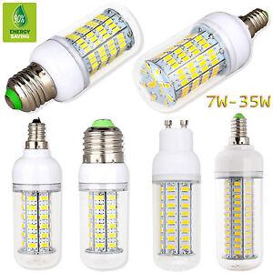 E27-E12-E14-G9-GU10-7W-35W-Energy-Saving-LED-Corn-Light-5730SMD-Bulb-Lamp-White