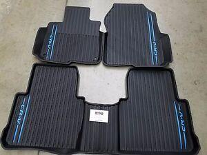 floor weather oem mats ebay genuine honda season mat set s accord all p