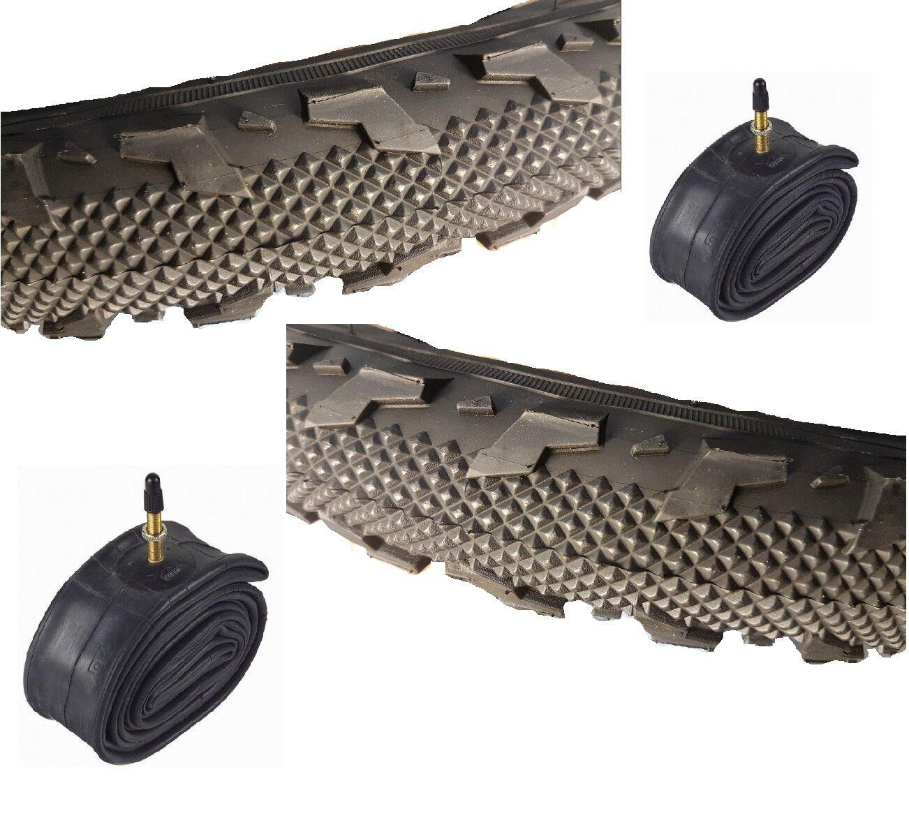 Paar 18x2.125      Off Straßenreifen E-515-01 mit Hohem Qualität Reifen Schläuche  for sale