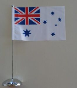 Australian RAF Ensign Desk Table Top Flag