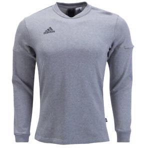 adidas-Men-039-s-Tango-Sleeve-Sweat-Jersey-Grey-CZ3979