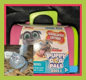 Details about Disney Jr Puppy Dog Pals •SERIES 3• Translucent ✳️RUFUS✳️  🌟NEW W/CRATE🌟