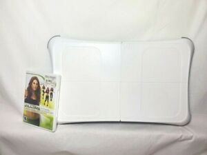 Nintendo-Wii-Fit-Balance-Board-Bundle-With-Jillian-Michaels-Game-Tested