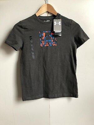 - Red 9-10 YMD Under Armour Kid/'s UA CoolSwitch Fitted T-Shirt
