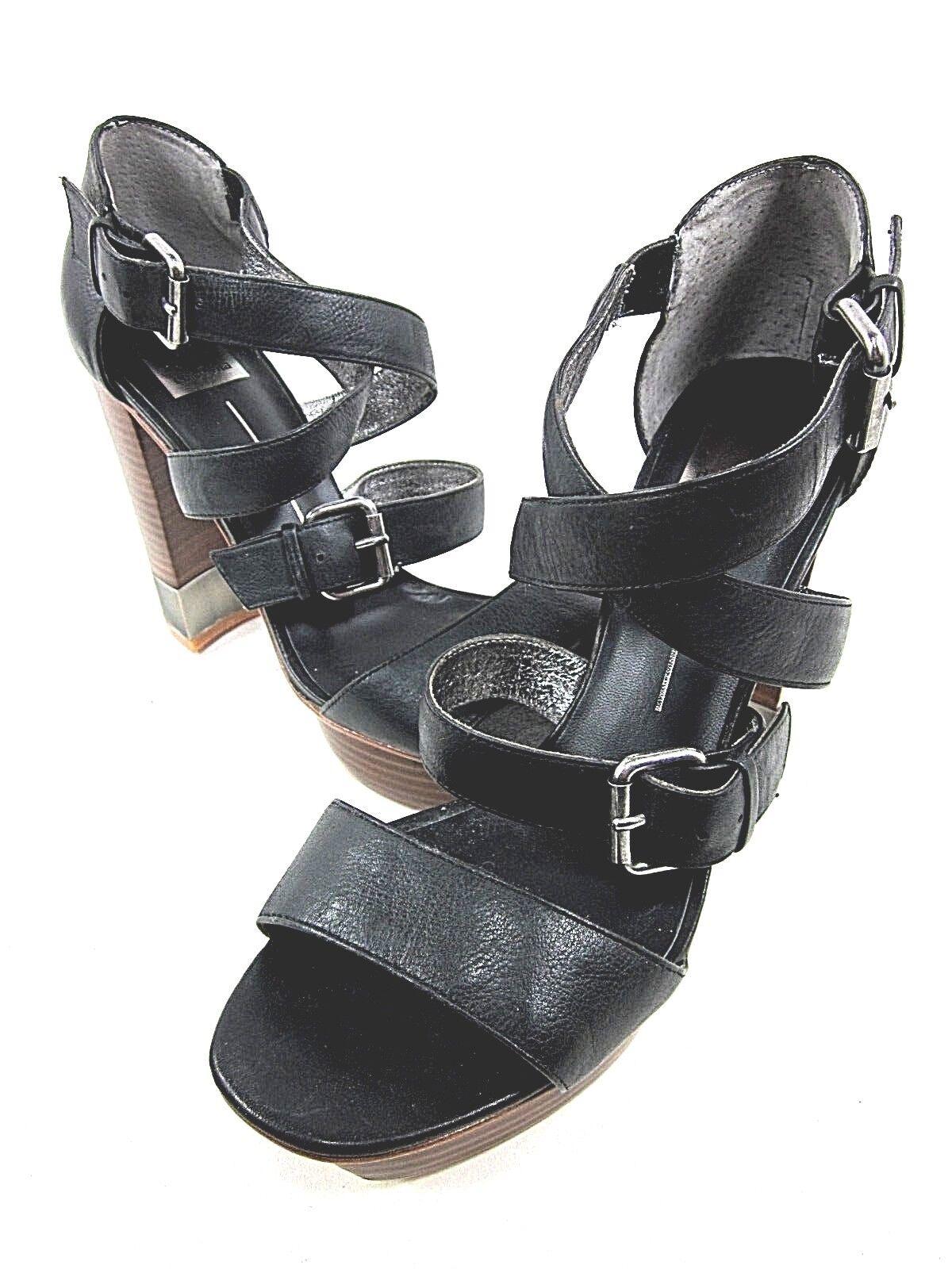 marca DOLCE VITA EMERY ANKLE-STRAP SANDAL donna nero US Dimensione 9.5M 9.5M 9.5M NEW DISPLAY  negozio a basso costo