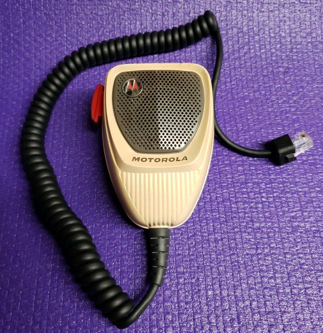 Vintage Motorola Microphone GM300 CM300 RADIUS Maxtrac M1225 MCS2000 CDM1250 #3. Available Now for 125.00
